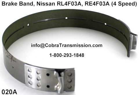 Cinta de Freno - Banda, Nissan RL4F03A, RE4F03A (4 Speed)