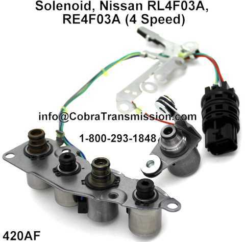 Solenoid, Nissan RL4F03A, RE4F03A (4 Speed)