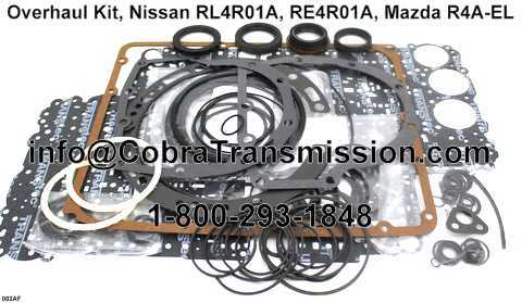 Overhaul Kit, Nissan RL4R01A, RE4R01A, Mazda R4A-EL