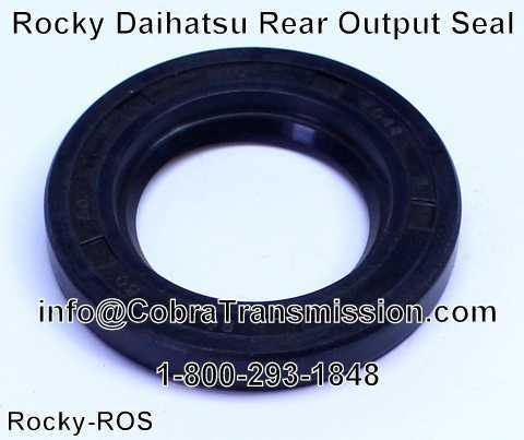 Rocky Daihatsu Rear Output Seal