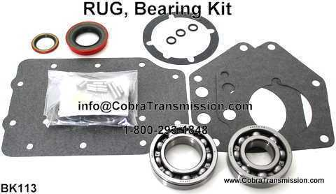 RUG, Bearing, Gasket and Seal Kit