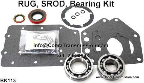 RUG, SROD, Bearing, Gasket and Seal Kit