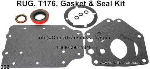 RUG, T176, Gasket & Seal Kit