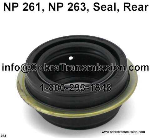 NP 149, Seal, Rear Output