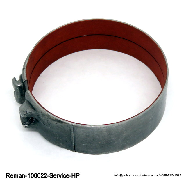 FMX HP Red Brake Band Relining Service