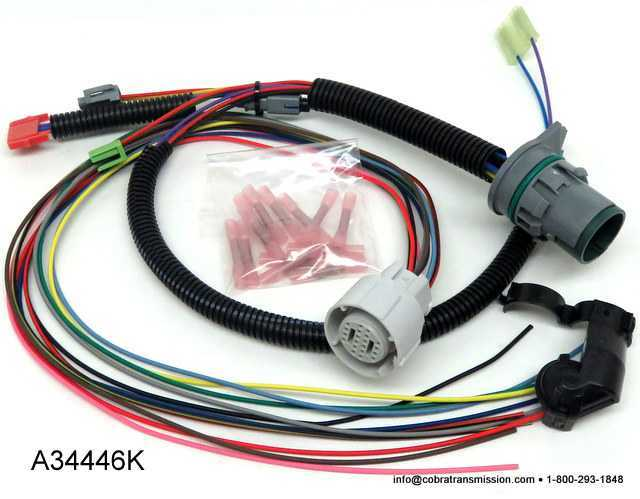 Repair Kit 4L80E Internal Wire Harness Case Connector 12 Prong A34446K solenoid, sensor , cobra transmission 4L80E Transmission Wiring Diagram at creativeand.co
