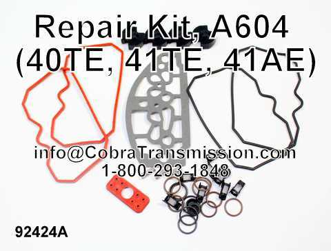 Repair Kit, A604 (40TE, 41TE, 41AE)