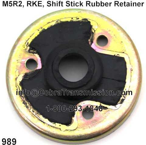 M5R2, RKE, Shift Stick Rubber Retainer