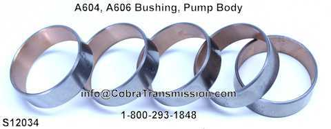 A604, A606 Bushing, Pump Body