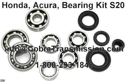 Honda, Acura, Bearing, Gasket and Seal Kit S20