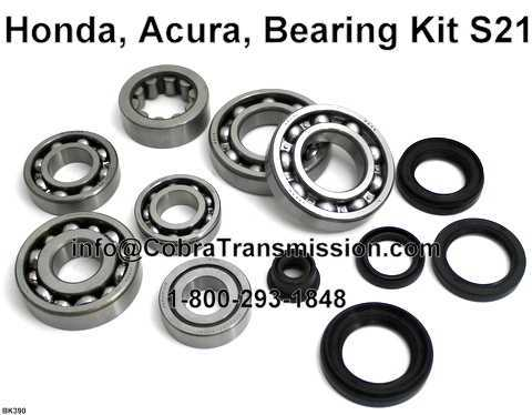 Honda, Acura, Bearing, Gasket and Seal Kit S21