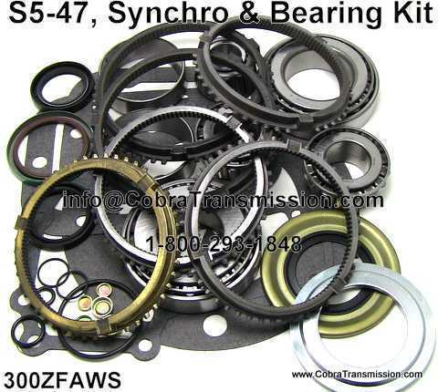 S5-47, Synchro, Bearing, Gasket and Seal Kit