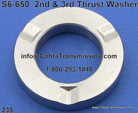 S6-650, 2nd & 3rd Thrust Washer