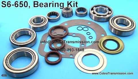 S6-650, Bearing, Gasket and Seal Kit