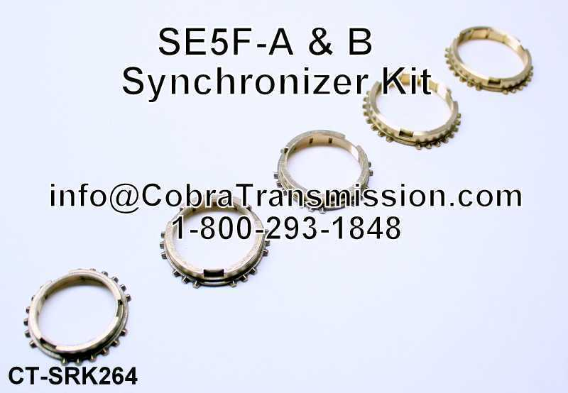 SE5F-A & B (5 Speed) (Fwd), Synchronizer Kit