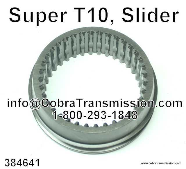 Super T10 Slider 1-2 and 3-4