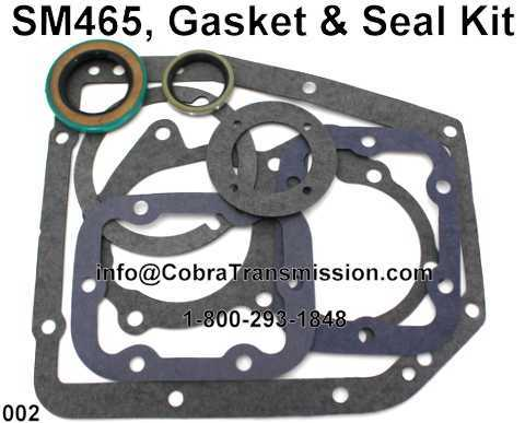 SM465, Gasket & Seal Kit