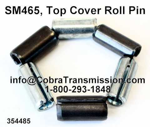 SM465, Top Cover Roll Pin