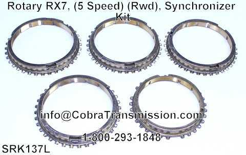 Rotary RX7, (5 Speed) (Rwd), Synchronizer Kit