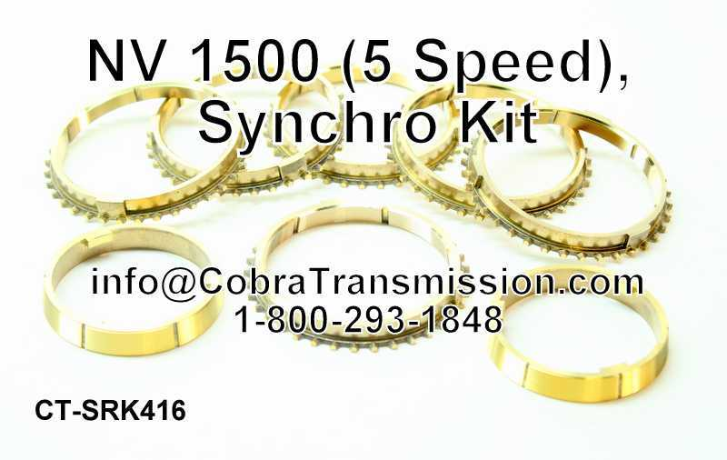 NV 1500 (5 Speed) (Rwd), Synchro Kit