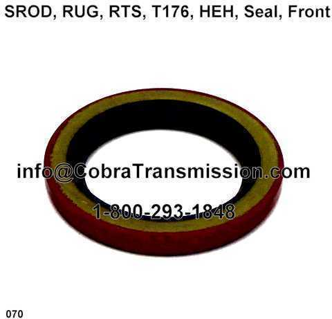 SROD, RUG, RTS, T176, HEH, Seal, Front