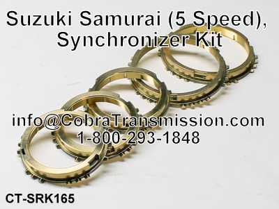 Suzuki Samurai (5 Speed), Synchronizer Kit