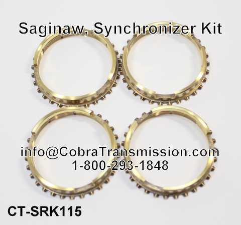 Saginaw, Synchronizer Kit