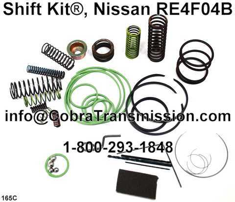 Shift Kit®, Nissan RE4F04B