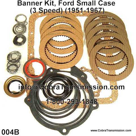 Banner Kit, Ford Small Case (3 Speed) (1951-1967)