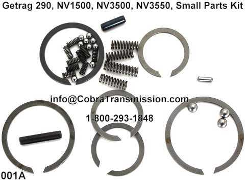 Getrag 290, NV1500, NV3500, NV3550, Small Parts Kit