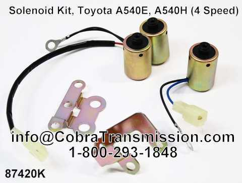 Solenoide, Toyota A540E, A540H (4 Speed)
