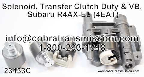 Solenoid, Transfer Clutch Duty & VB, Subaru R4AX-EL (4EAT)