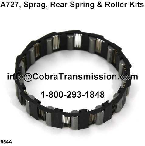 A727, Sprag, Rear Spring & Roller Kits