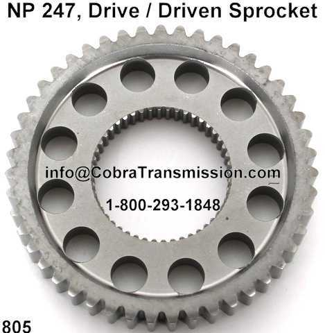 NP 247, Drive Sprocket