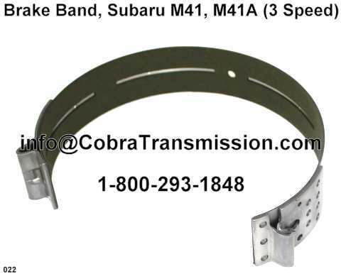 Brake Band, Subaru M41, M41A (3 Speed)
