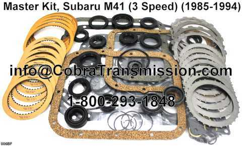 Master Kit, Subaru M41 (3 Speed) (1985-1994)