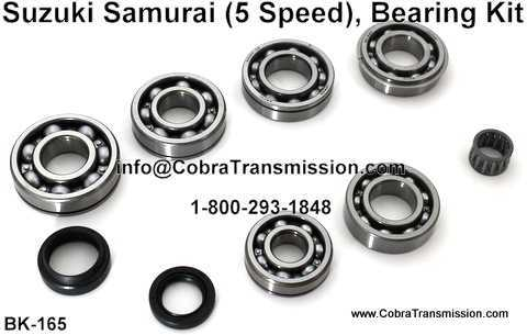 Suzuki Samurai Bearing, Gasket and Seal Kit