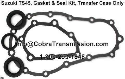 Suzuki TS45, Gasket & Seal Kit, Transfer Case Only