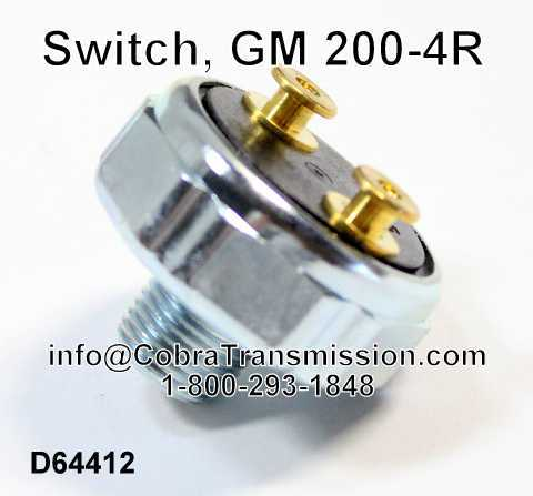 Switch, GM 200-4R