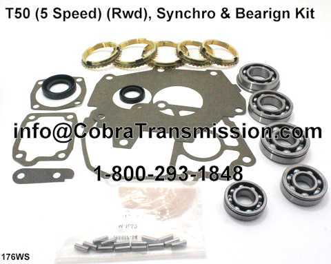 T50 Synchro, Bearing, Gasket and Seal Kit