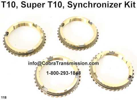 T10, Super T10, Synchronizer Kit