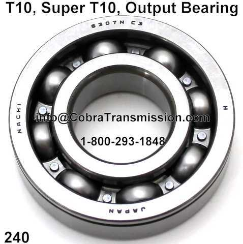 T10, Super T10, Output Bearing