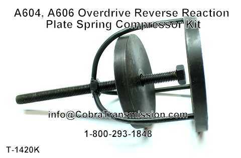 A604, A606 Overdrive Reverse Reaction Plate Spring Compressor Ki