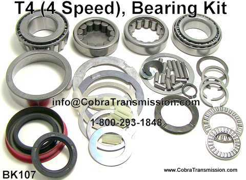 T4 Bearing, Gasket and Seal Kit