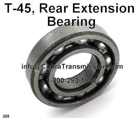T-45, Rear Extension Bearing
