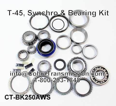 T-45, Synchro, Bearing, Gasket and Seal Kit