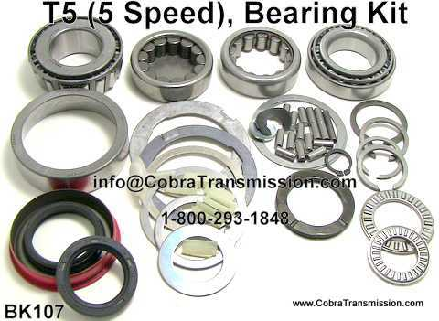 T5 Bearing, Gasket and Seal Kit