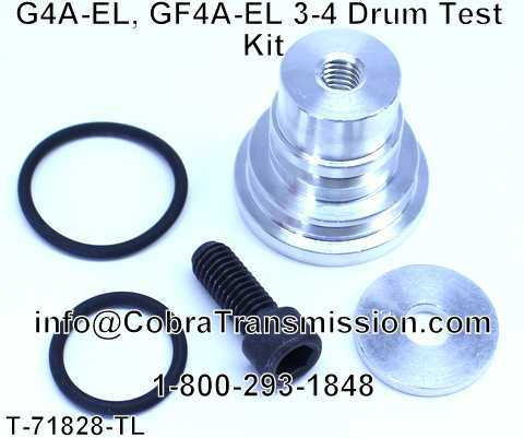 G4A-EL, GF4A-EL 3-4 Drum Test Kit