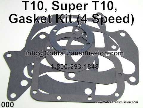 T10, Super T10, Gasket Kit