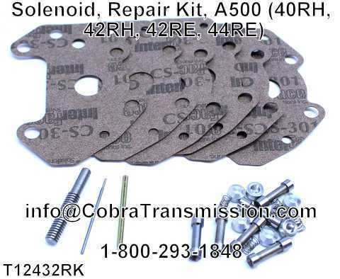 Solenoid, Repair Kit, A500 (40RH, 42RH, 42RE, 44RE)